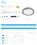 "12"" Indoor Round LED Ceiling 