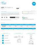 "100-Watt Equivalent A19 120-277V - GU24 Base, Energy Star 1600 Lumens 14 W Enclosed Fixture Suitable, 100-Watt Equivalent A19 Dimmable Energy Star 1600 Lumens 15 W Enclosed Fixture Suitable, 10"" Outdoor Trapezoidal LED Ceiling Light W/Matte Black Aluminum Die-Cast & Textured Glass Lens"