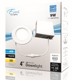 4 in. Ultra Thin LED Downlight 9W 600 lumens | Led Downlight