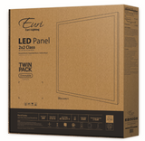 2  x 2 LED Light Fixture <b>(2-Pack $39.99 each)</b> DLC 4000 & 5000 Kelvin
