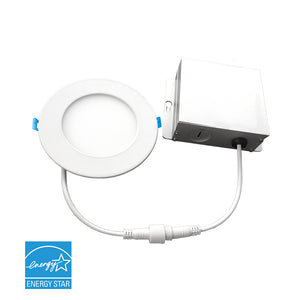 6 in. Ultra Thin LED Downlight 12W 900 lumens - 4000K | Led Downlight