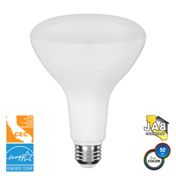 BR40 11W - 1000 LUMENS, ENERGY STAR, CEC, 90+ PLUS CRI, DIMMABLE LED BULB