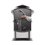 Integrated Outdoor LED Wall Lantern W/Oil Rubbed Bronze Aluminum Die-Cast & Frosted Glass Lens