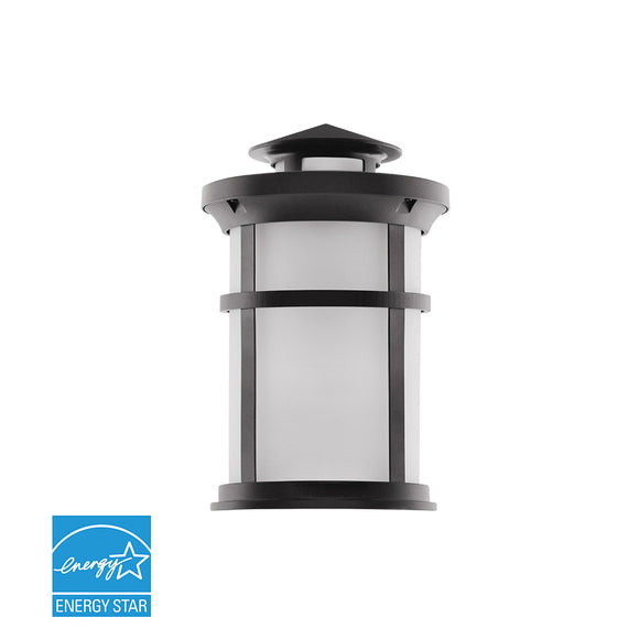 Integrated Outdoor LED Wall Lantern W/Oil Rubbed Bronze Aluminum | Wall Lights