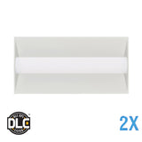 2 x 4 LED Light Troffer Fixture - 36 Watt - 3 Lamp Equal - 4000 Kelvin - <b>2 Pack $75.00 each </b>