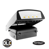 LED Adjustable Wall Pack - 70 Watt - 7500 Lumens - DLC | Led Lights