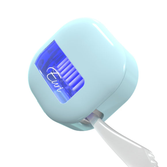 Toothbrush UV-C Sterilizer | Blue-M2