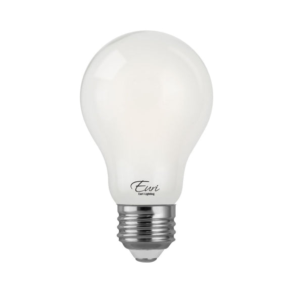 LED Filament A19 Bulb 8W 800 Lumens 2700K Frosted Glass | Led Lights