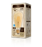 LED Filament ST19 Bulb 4.9W 450 Lumens 2000K Amber tint Energy Star | Led Lights