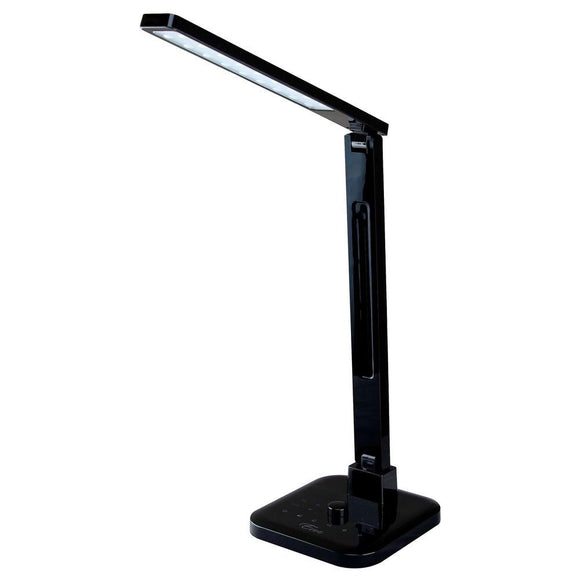 18 in. Black Integrated LED Desk Lamp | Desk Lamps