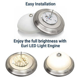 120 Watt Equivalent 7.3 in. Round Multi-Purpose LED Retrofit MPLR Light Engine in Bright White <b>(4000K)</B>
