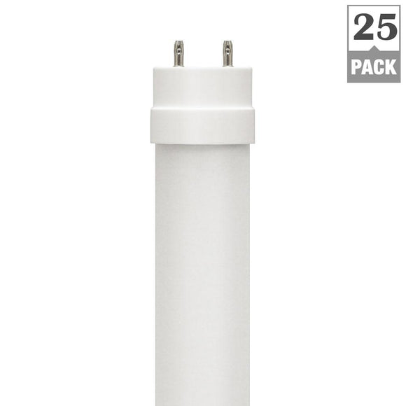 4 ft. Plug & Play T8 LED Tube  17-Watt - 2200 lumens - 4000K & 5000k <b>25-Pack $4.45 each)</b>