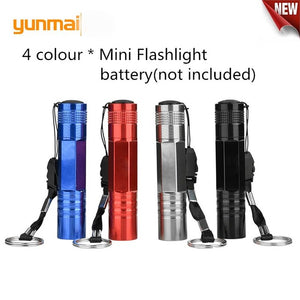 2019 New lanterna 5pcs Pocket Pen Light Portable Mini LED Flashlight Torch Q5 Flash Light 1000LM For Hunting Lamp By AAA battery | Flashlights