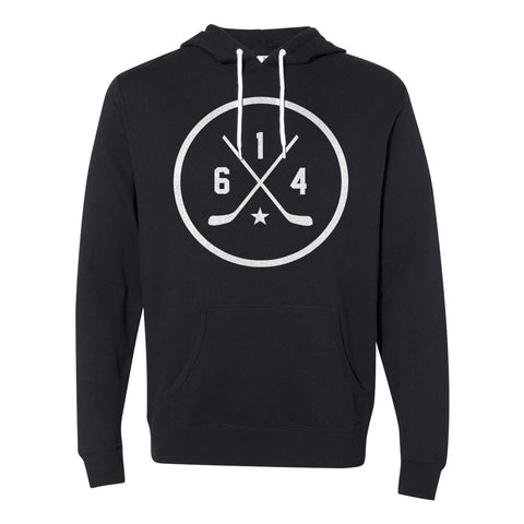 614 Hockey Black Fleece Hoodie