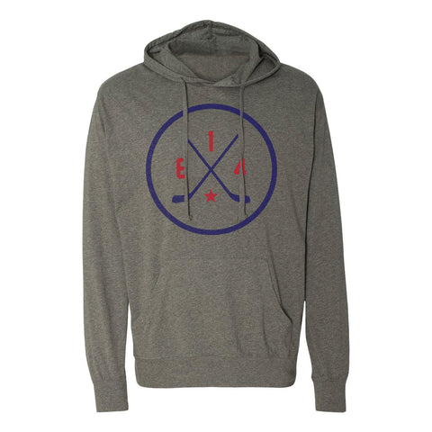 614 Hockey Original Lightweight Hooded Pullover T-Shirt
