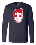 614 Hockey Latvian Hound Dog Long Sleeve Shirt