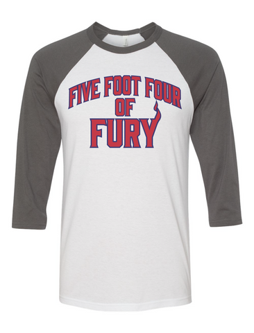 614 Hockey Five Foot Four of Fury Raglan