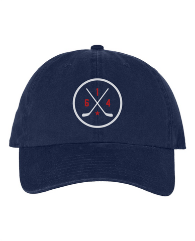 614 Hockey Original Navy Hat
