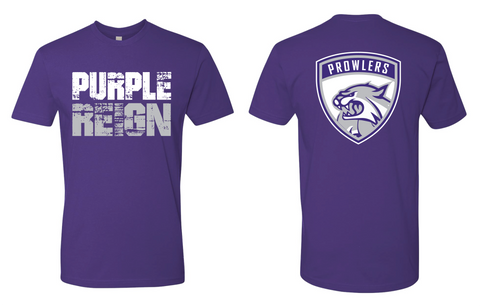 "614 Hockey Center Ice Foundation ""Purple Reign"" Prowlers Tee"