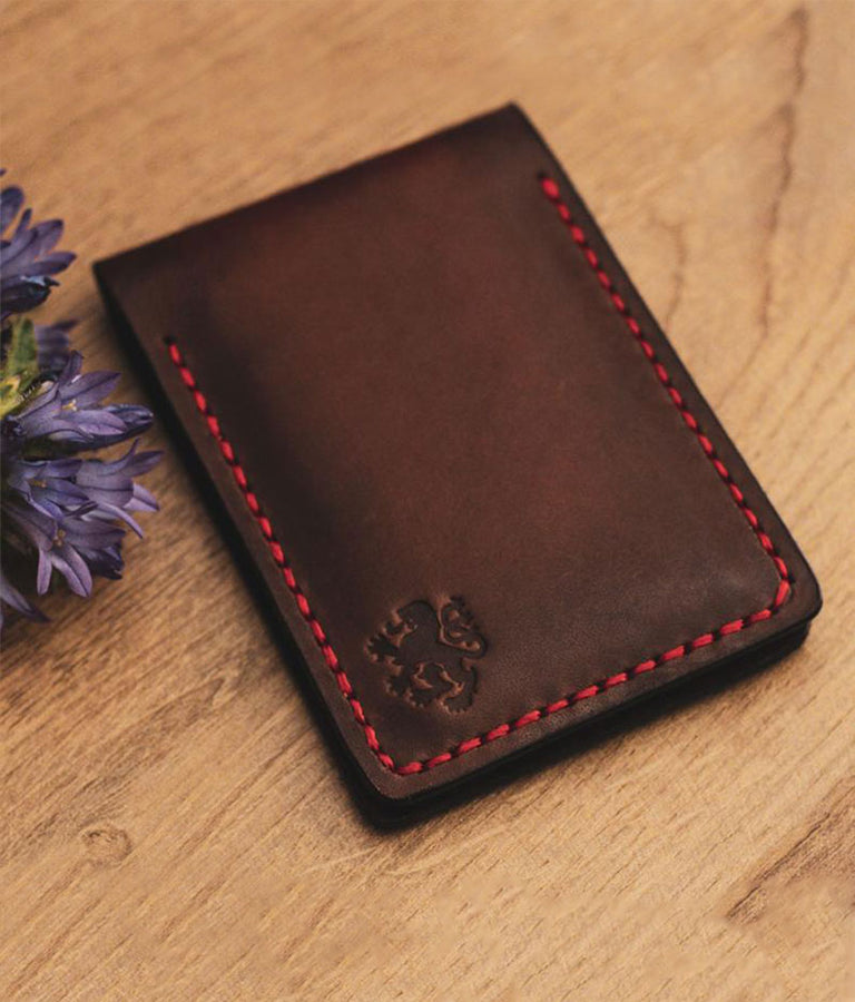 Mens Leather Credit Card Wallet