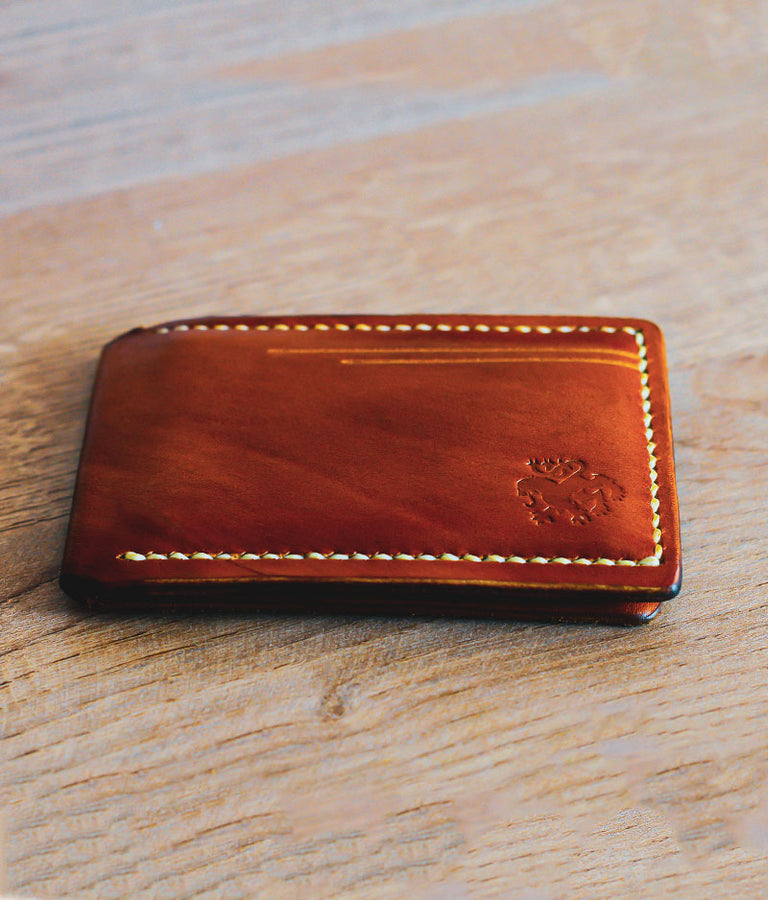 tan card case