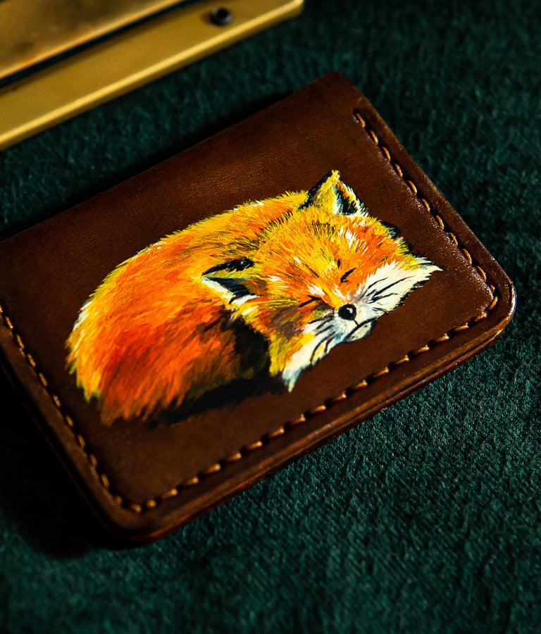 hand painted wallet