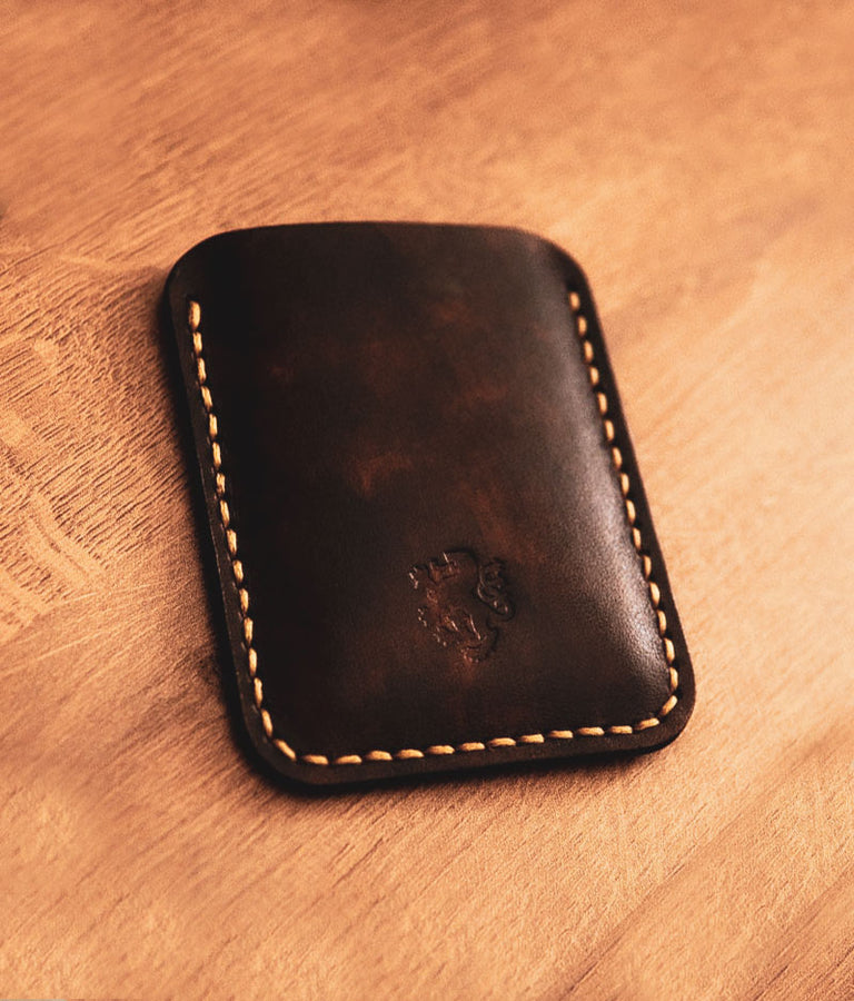 Thin Leather Wallet Mens