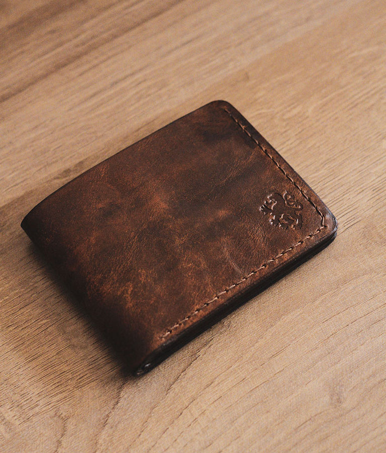 Man Bifold Leather Wallet