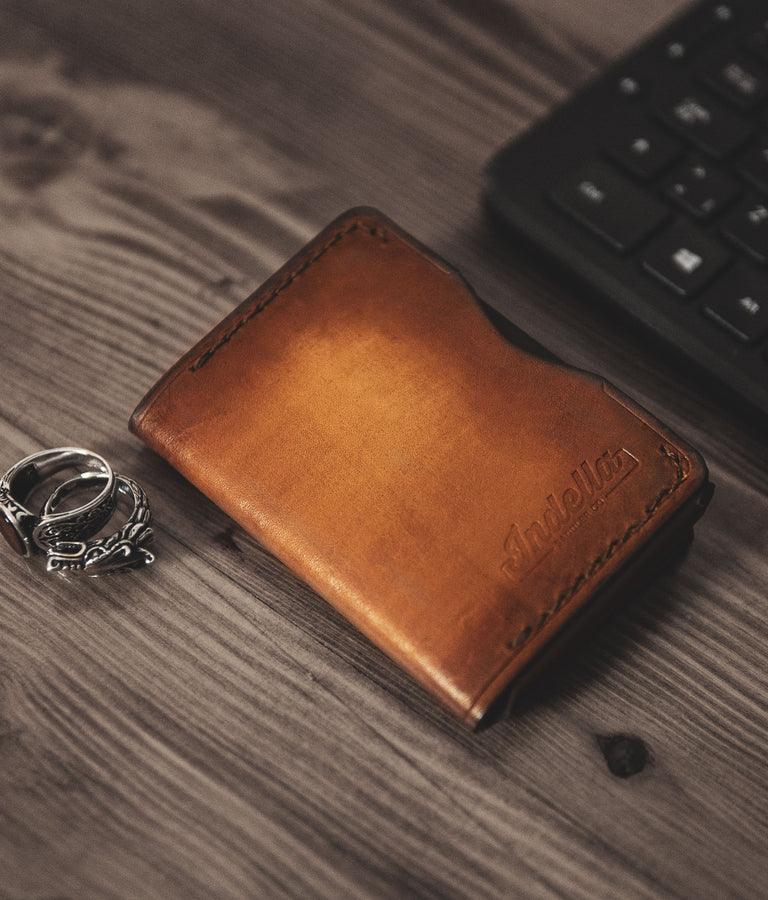 Mens Trifold Leather Wallets
