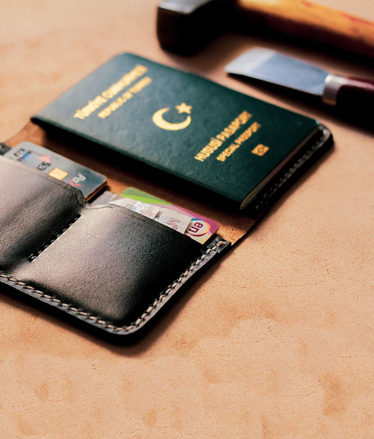 mens passport wallet