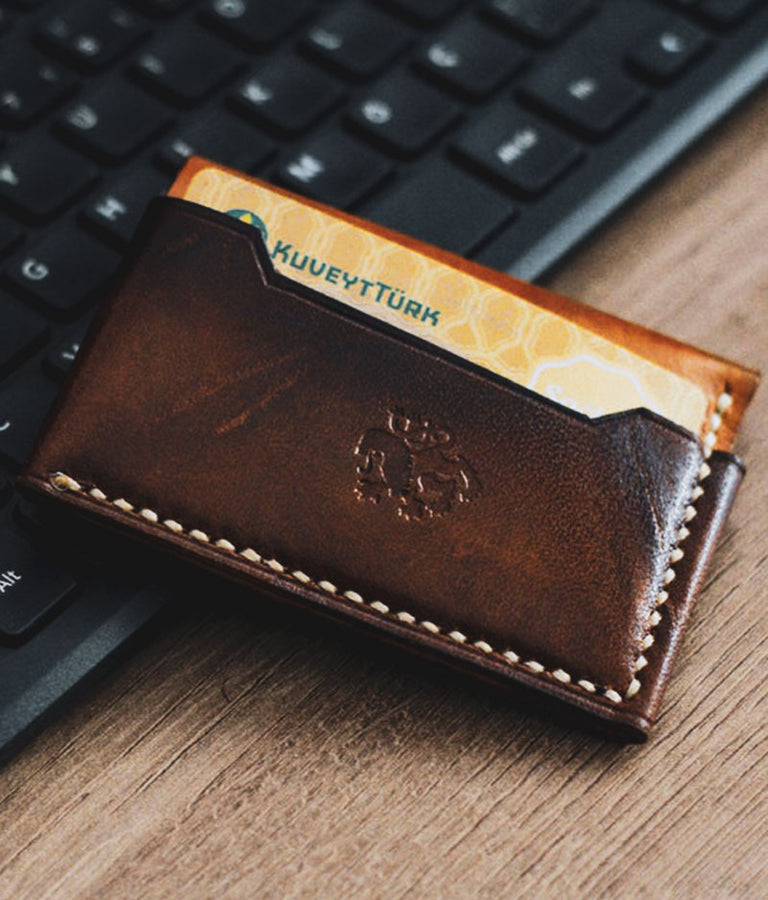 pocket leather wallets