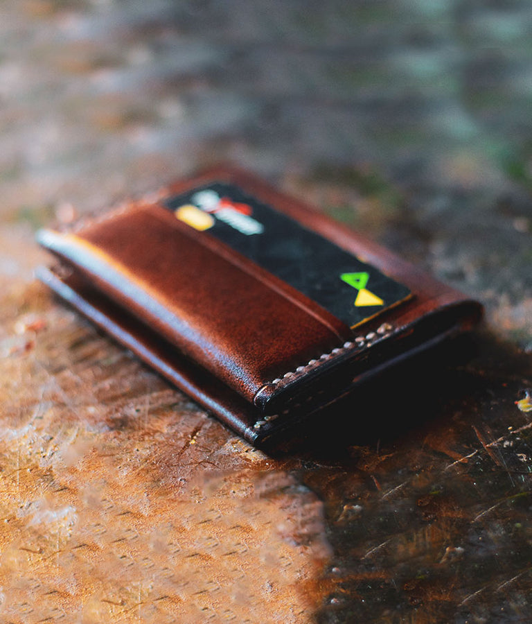 Mens Leather Front Pocket Wallet