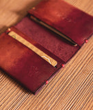 wallet colorful leather
