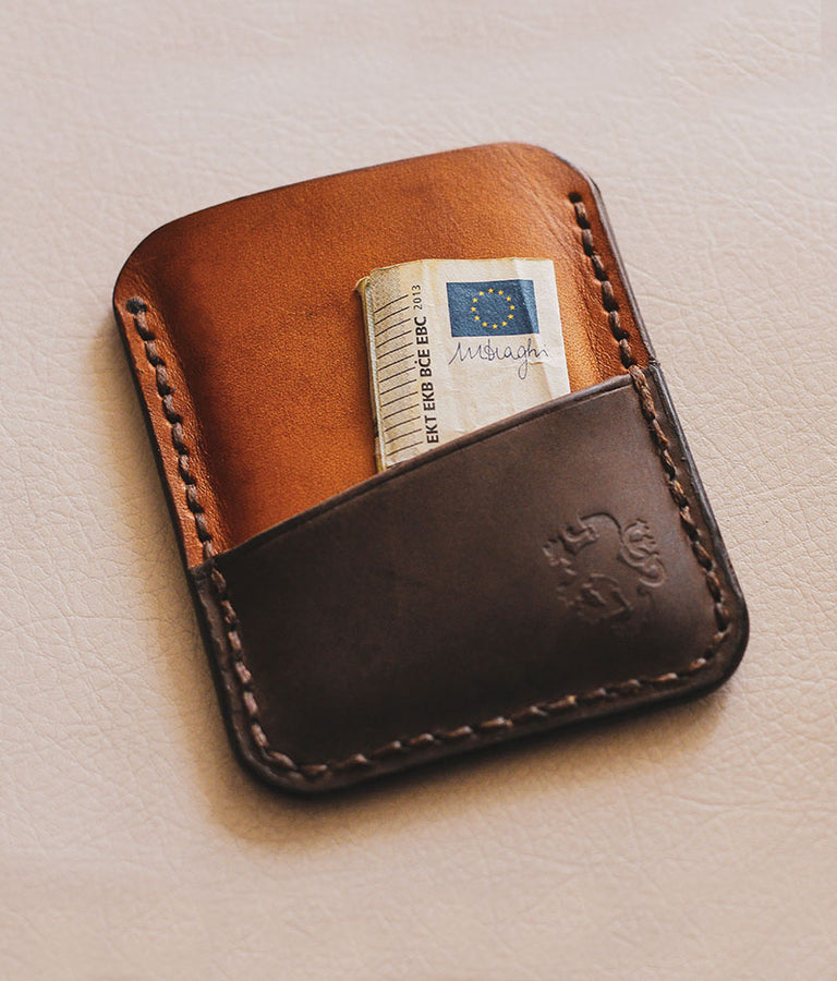 leather front pocket wallets