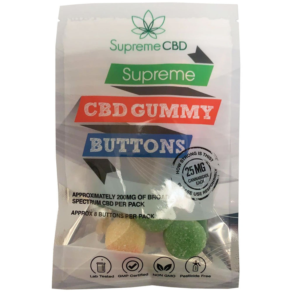 Supreme CBD Gummy Buttons Grab Bag (200MG)