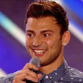 Photograph of Jake Quickenden on X-factor