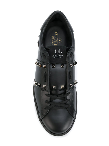 Valentino Rock Stud 'Untitled' Sneaker Black