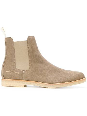 Common Projects Chelsea Boot in Suede 1897 Taupe