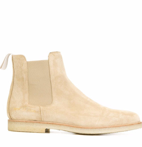 Common Projects Chelsea Boot in Suede 1897 Tan