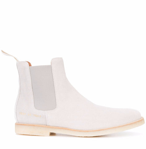 Common Projects Chelsea Boot in Suede 1897 Grey