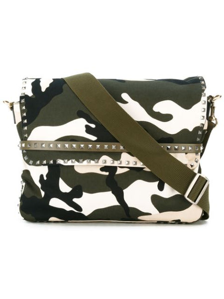 Camupanther Messenger Bag Green