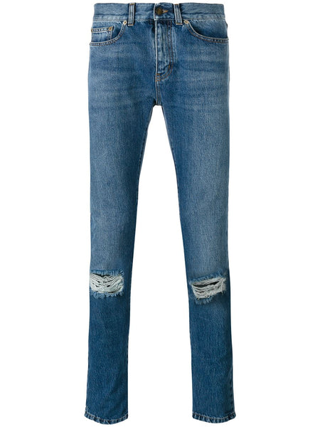 Denim Distressed Jeans