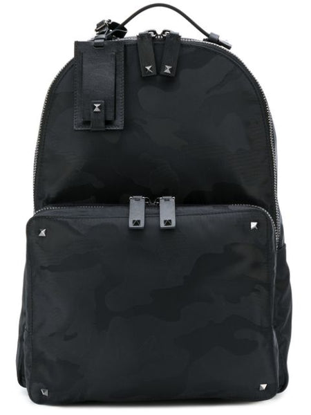 Camouflage Backpack Black