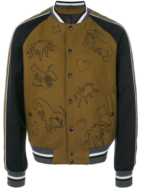 Scorpion Patch Bomber Jacket