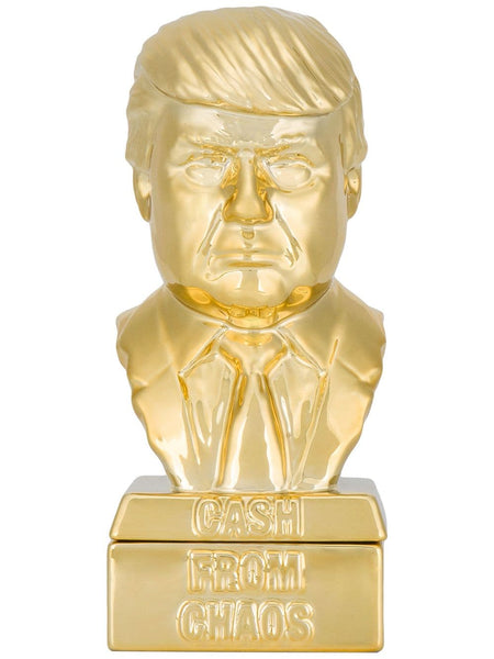 Donald Trump Incense Chamber Gold