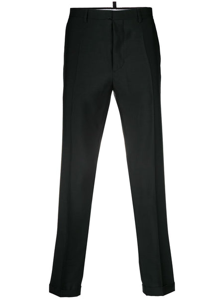 Button-Up Suit Trousers