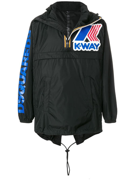 Logo Print Windbreakers