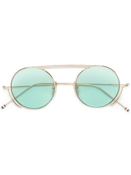 Gold Tone Frame Sunglasses