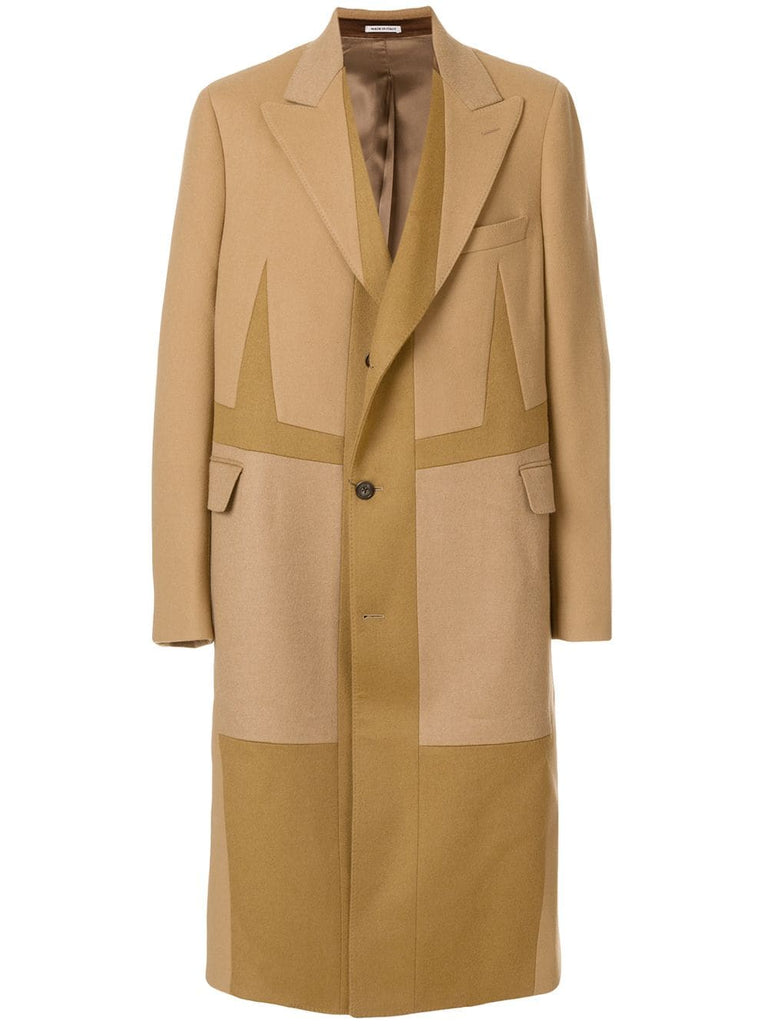 Oversized Single-Breasted Coat