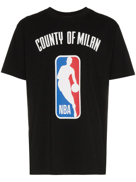 NBA Print Ribbed Neck T-Shirt